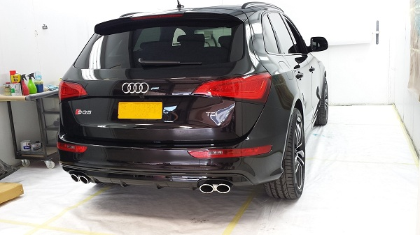 Audi Q5S Crystal Serum Treatment Maidstone
